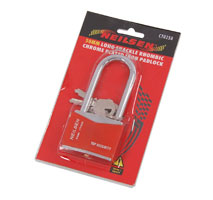 50mm Padlock with Long Shank