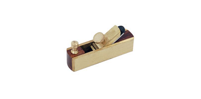 Mini Brass Plane