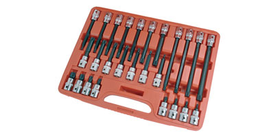 26 PieceSpline Bit Set