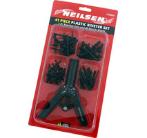 Plastic Riveter Set