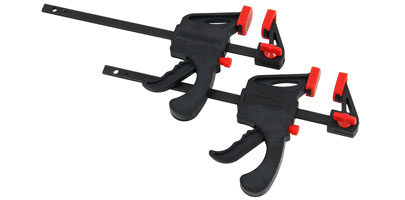 2 x 100mm Ratchet Bar Clamps