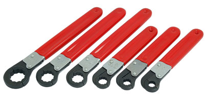 Ratchet Pipe Wrench Set