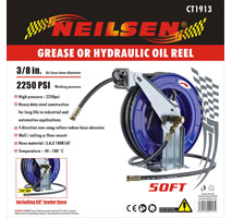 Grease or Hydraulic Oil Reel