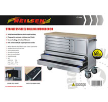 Stainless Steel Mobile Workbench