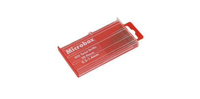 Micro Drill Set - Sizes 0.3-1.6mm