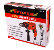 600W Impact Drill with 13mm Chuck