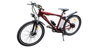 Bicycle with Electric Motor