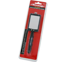 Rectangular Inspection Mirror with 2 LEDs