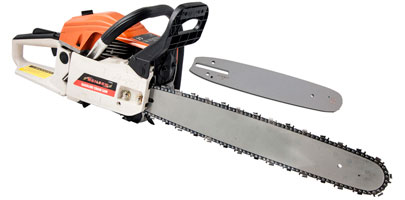 12 and 20 inch Chain Saw