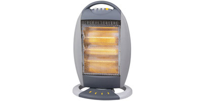 Oscilllating Halogen Heater