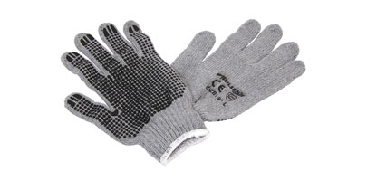 PVC Coated Knitted Gloves
