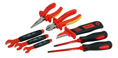 Insulated Tool Set - 8pc 1000V