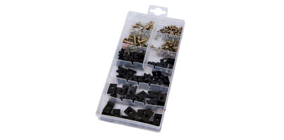 Screws / U-Type Cushon Assortment