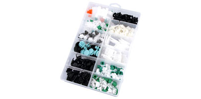 Trim Clip Assortment Box - Audi