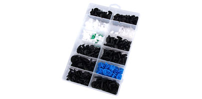 Trim Clip Assortment Box - Fiat