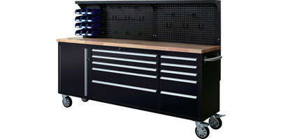 Mobile Workbench and Tool Cabinet
