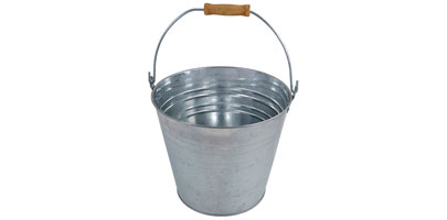 Galvanised Steel Bucket