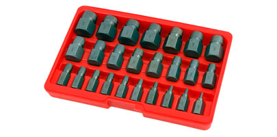 Multi-Spline Screw Extrator Set