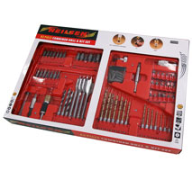 Combined Drill and Bit Set