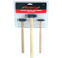 3 Mini Ball-pein Hammers