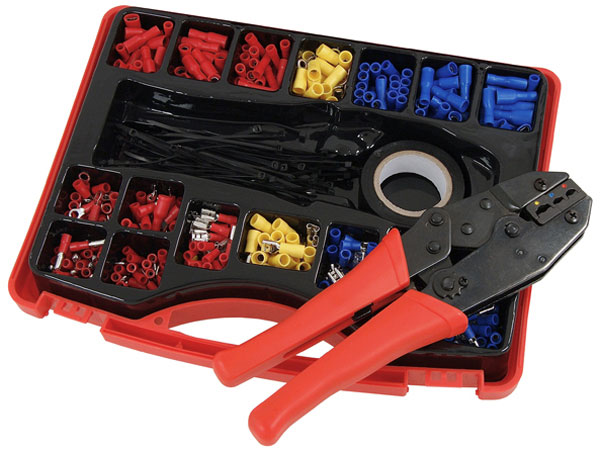 Crimping Tool Set with Crimping Plies