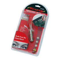 Tweezers with LED Light
