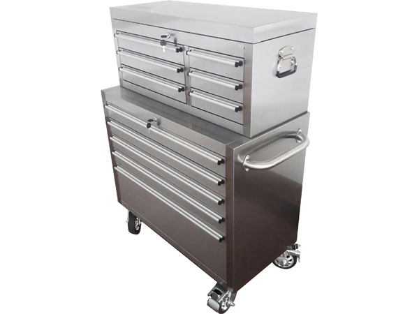 36in. Stainless Steel Roller Cabinet