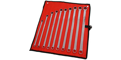 Ratchet and Ring Spanner Set