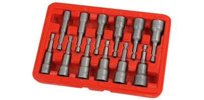 Short Hex Shank Nut Driver Set