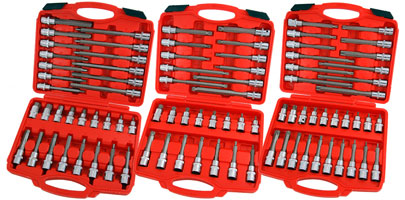 Hex / Star / Spline Bit Set Box Assortment