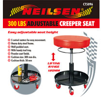 Mechanics Trolley Seat