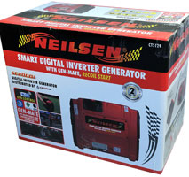 Digital Petrol Generator with Recoil Start