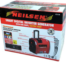 Digital Petrol Generator with Electric Start