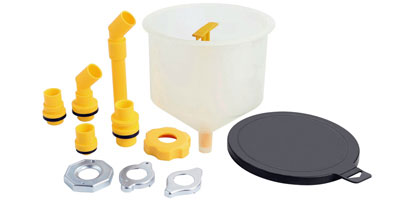 Coolant Funnel and Accessory Set