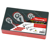 Stubby Ratchet Set - 1/4 | 3/8 | 1/2in.Dr