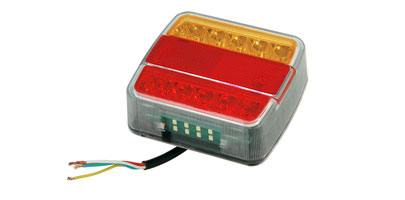 12V LED Tail Light Unit with Reflector